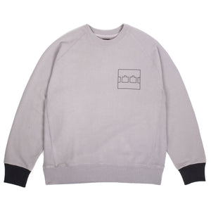 "The Trilogy Tapes - ""Block"" Grey Crewneck"