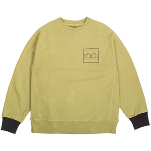 "The Trilogy Tapes - ""Block"" Green Crewneck"