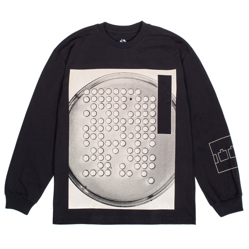 The Trilogy Tapes -  Petri L/S Black Tee