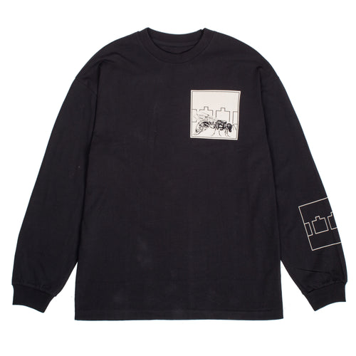 Trilogy Tapes Fly L/S Tee Black