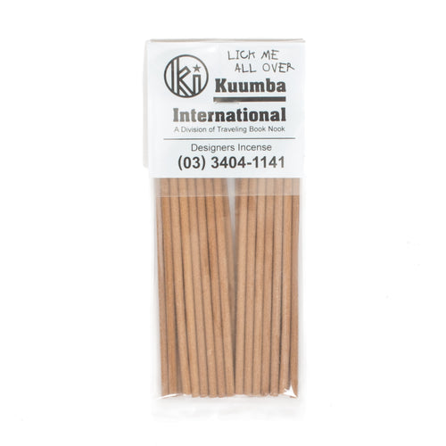 KUUMBA LICK ME ALL OVER MINI INCENSE PACK