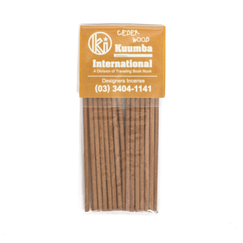 KUUMBA CEDER WOOD MINI INCENSE PACK