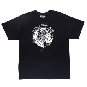 Graphic Content World Wide Web Black Tee
