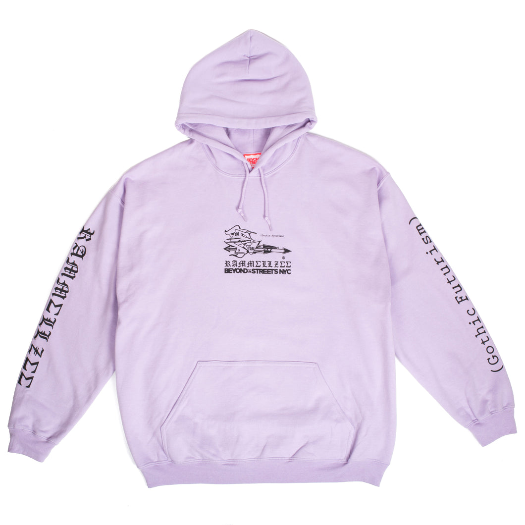 Rammellzee Beyond The Streets Hoodie Lilac