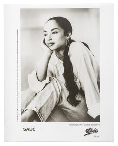 Sade Press Photograph  #2