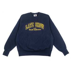 Late Show With David Letterman Crewneck