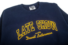 Load image into Gallery viewer, Late Show With David Letterman Crewneck