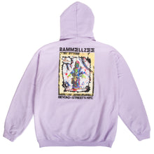 Load image into Gallery viewer, Rammellzee Beyond The Streets Hoodie Lilac