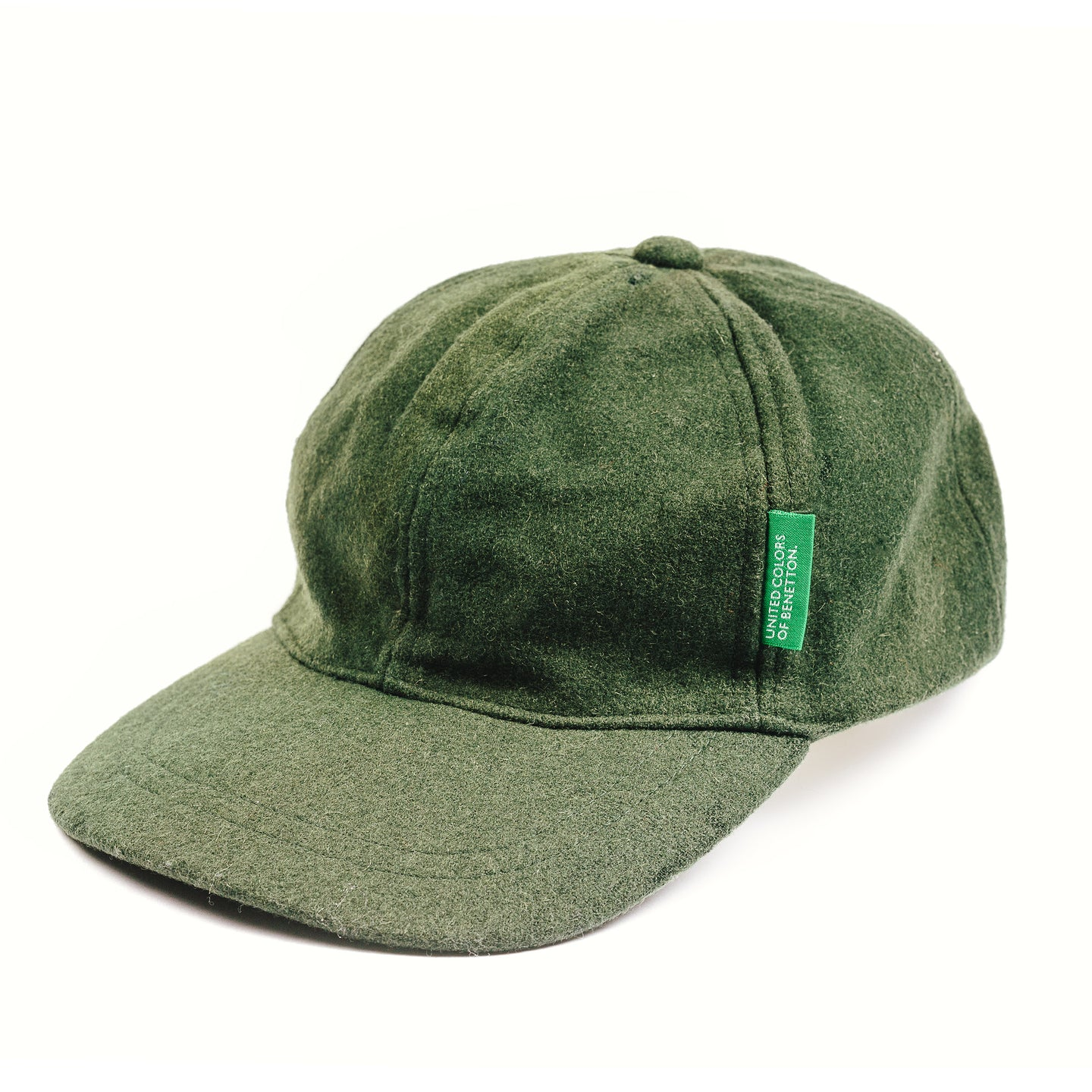 United Colors Of Bennetton Wool 6 Panel Hat