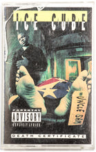 Load image into Gallery viewer, Ice Cube – Death Certificate Cassette