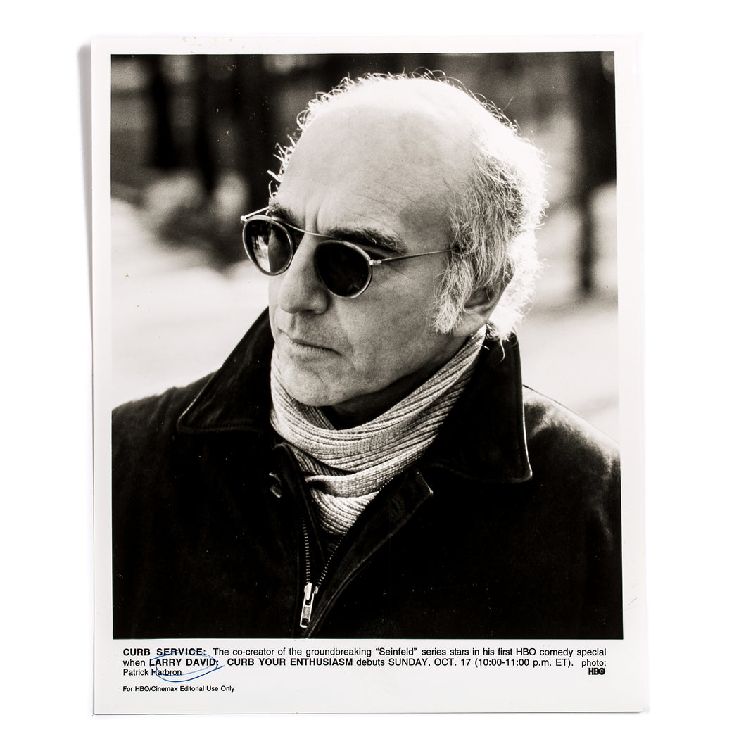 Larry David HBO Curb Your Enthusiasm Press Photo