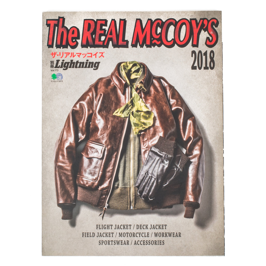 LIGHTNING MAGAZINE - THE REAL McCOY'S BOOK 2018