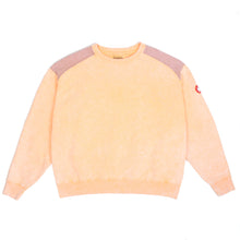 CAV EMPT - Overdye Panel Shoulder Orange Crewneck