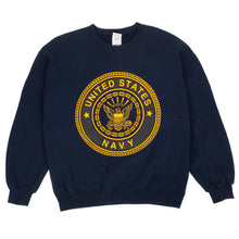 Load image into Gallery viewer, Vintage United States Navy Reflective Crewneck
