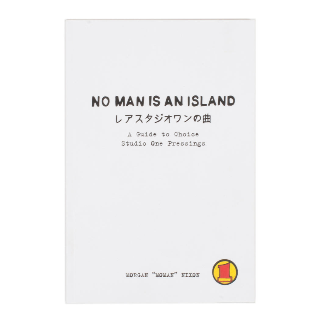 No Man Is An Island - A Guide To Choice Studio One Pressings Book
