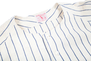 Vintage Goodman and Sons - Post 467 Pinstripe Baseball Jersey