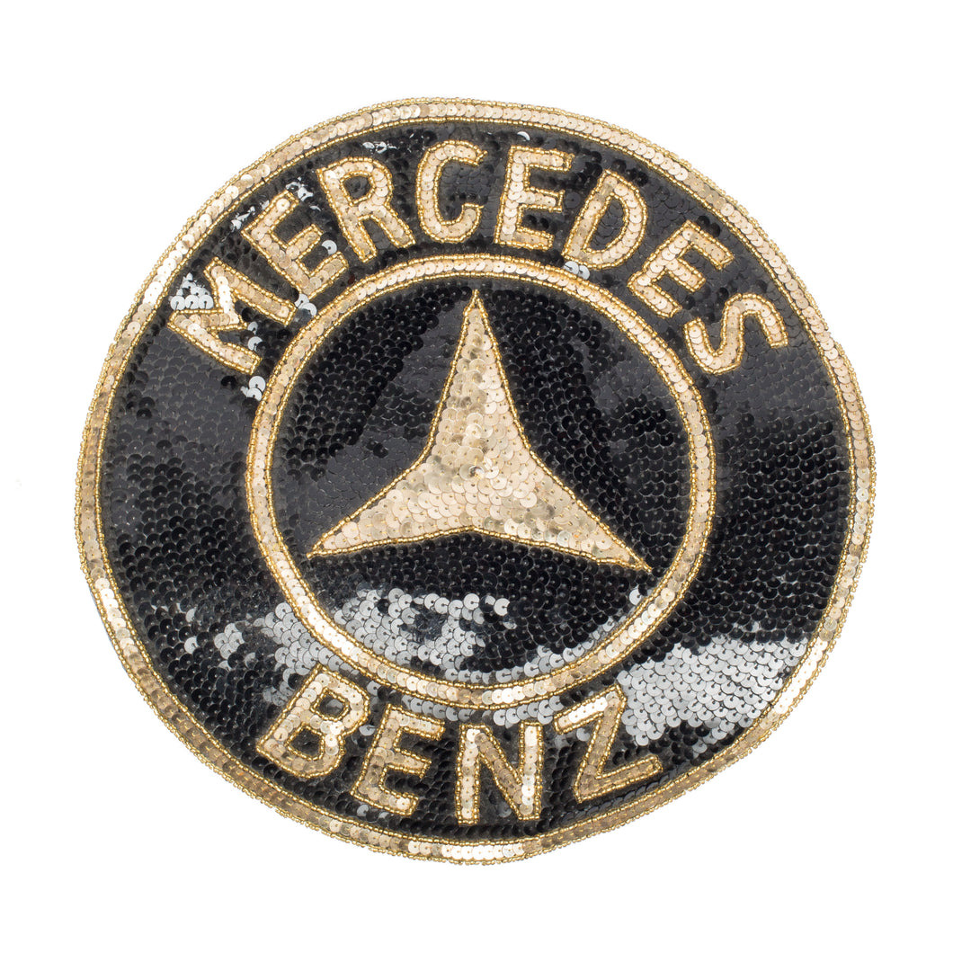 Mercedes-Benz Sequin Patch