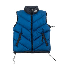 Load image into Gallery viewer, Vintage TNF Shady Blue Quilted Vest