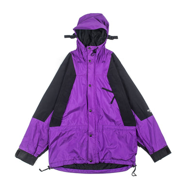 Vintage TNF Purple Mountain Light With Hood Clips