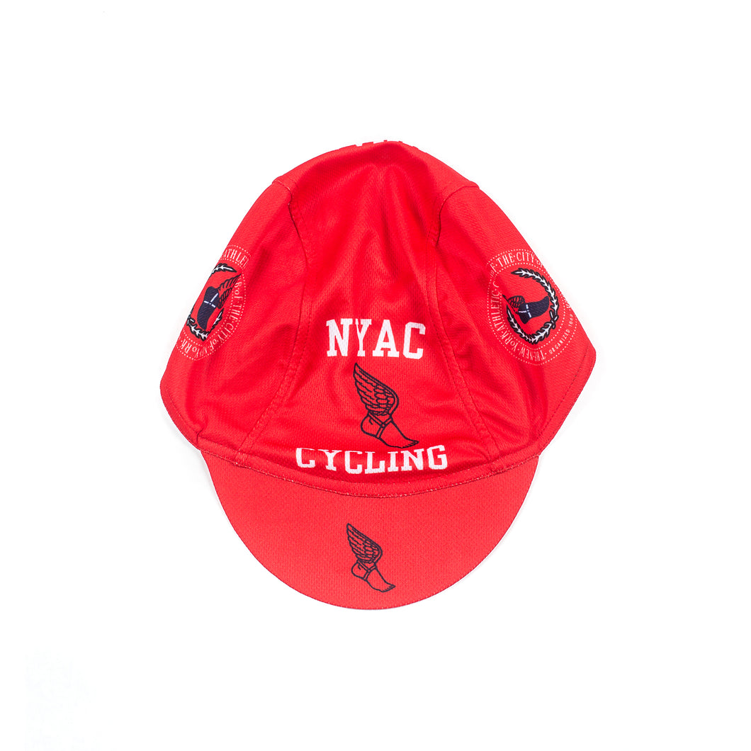 NYAC Cycling Hat Red