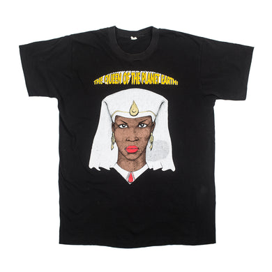 Vintage the Queen of the Planet Earth T-Shirt