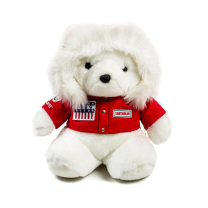 "1990 Trans Antarctica Expedition ""Santa Bear"""