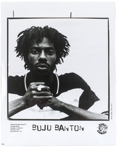 Buju Banton Press Photograph