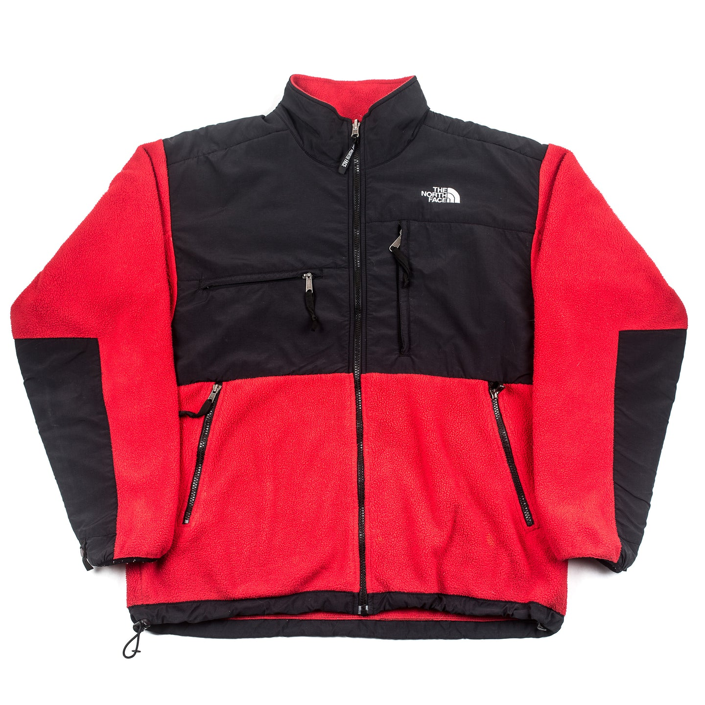 Vintage The North Face Red Denali Fleece