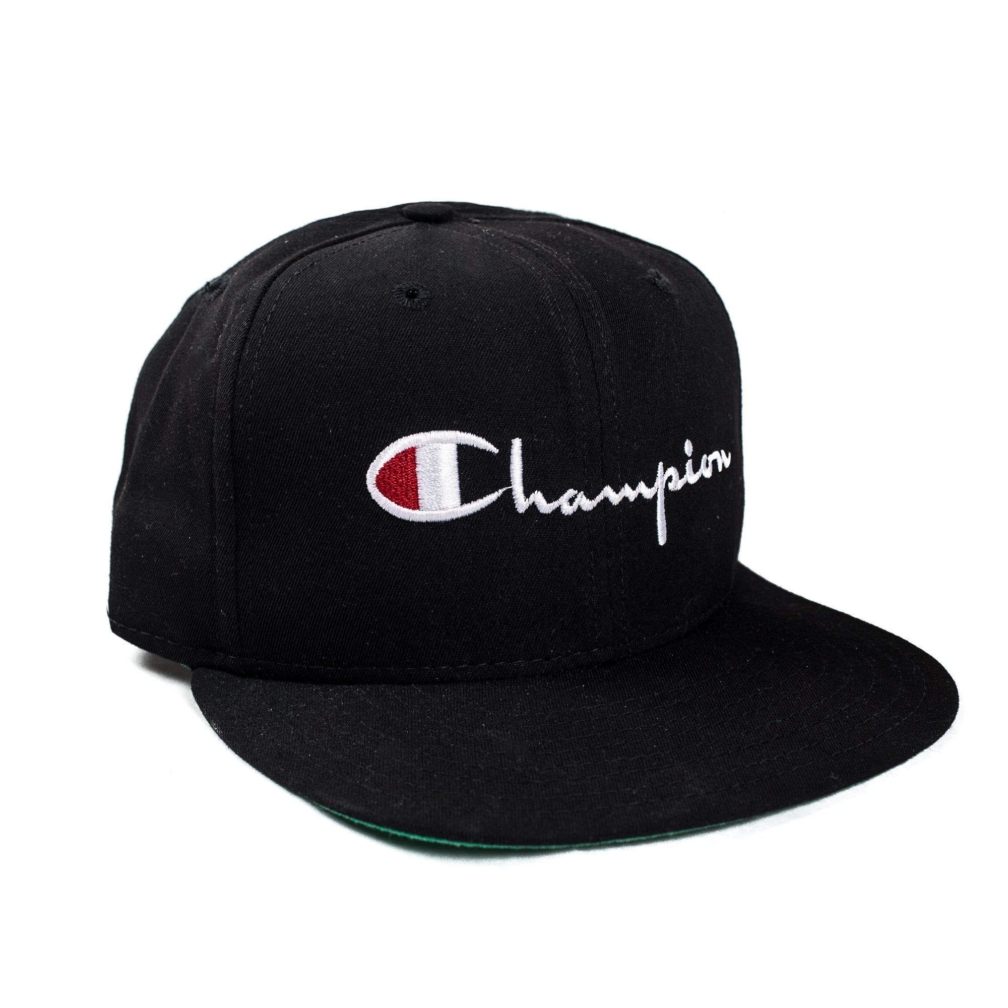 huge selection of 11623 e4d09 ... discount load image into gallery viewer vintage champion black snap  back hat 9096c 51982