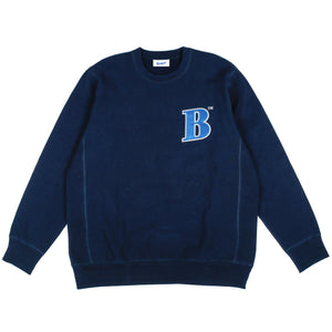 Better™ Collegiate B Crewneck Navy