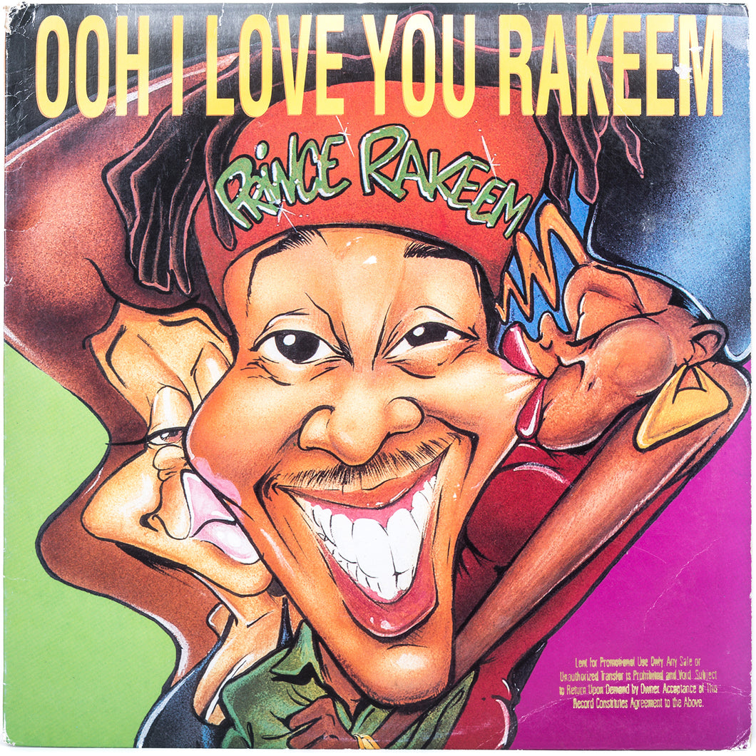 Prince Rakeem - Ooh I Love You Rakeem 12'