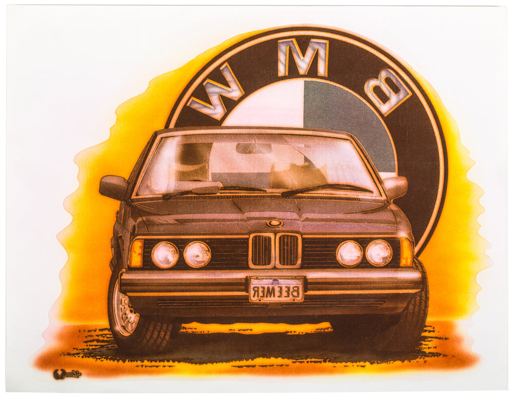 Vintage BMW Heat Transfer