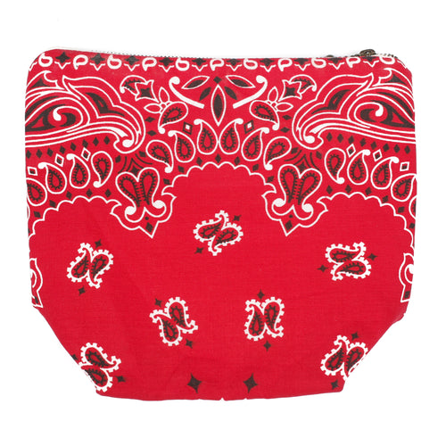 Tokyo Gimmicks Pouch Red Paisley