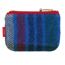 Load image into Gallery viewer, Tokyo Gimmicks Zip Wallet Wool Plaid