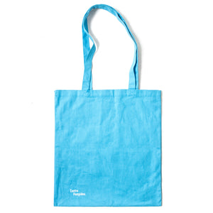David Hockney Turquoise Tote Bag