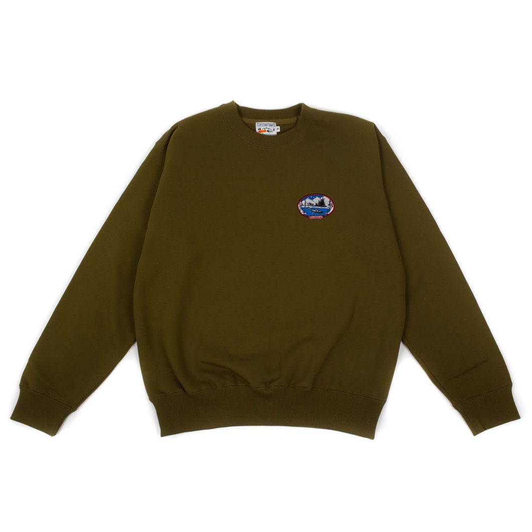 RWCHE ONE DUDE CREWNECK BLACK
