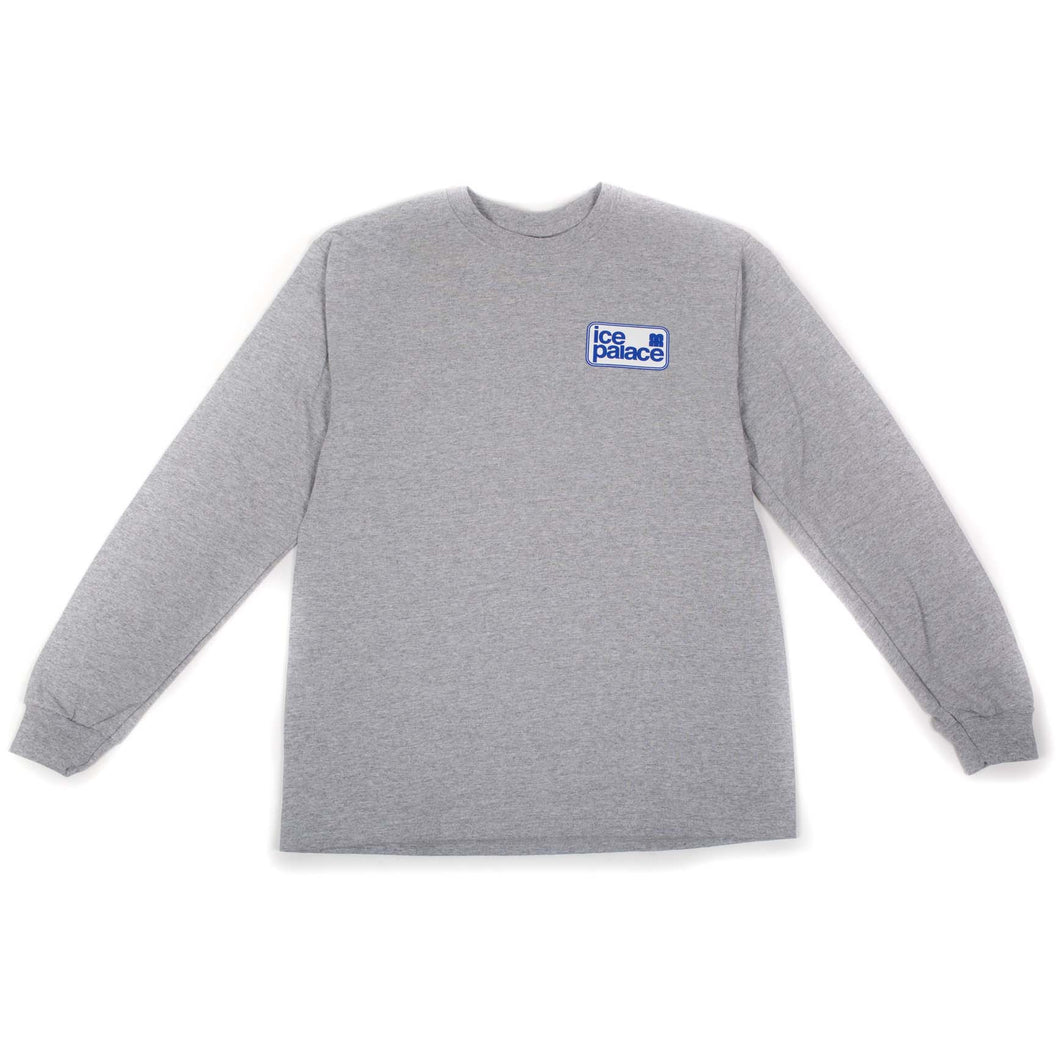 RWCHE ICE PALACE L/S TEE GRAY
