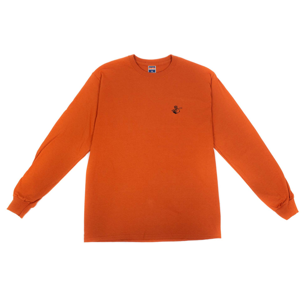 RWCHE ONE DUDE L/S TEE ORANGE