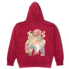 Load image into Gallery viewer, RWCHE HELLS DAIO HOODIE RED