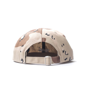 Better Logo 6-Panel Strapback Cap in Camo