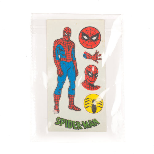 Vintage Spiderman Sticker Set #1