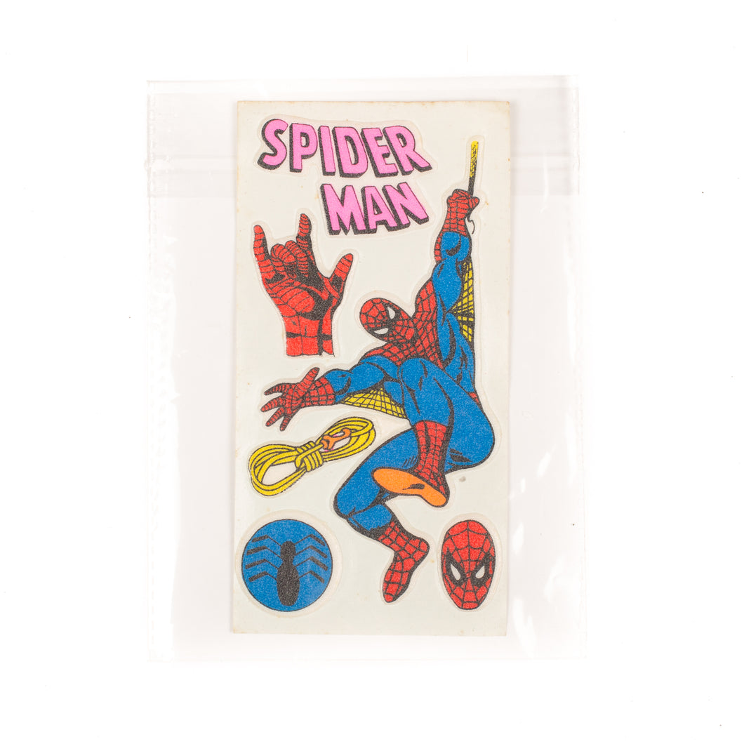 Vintage Spiderman Sticker Set #2