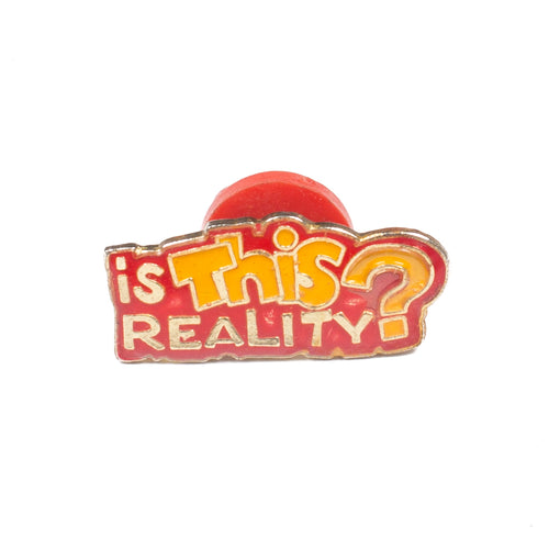 Vintage Reality Lapel Pin
