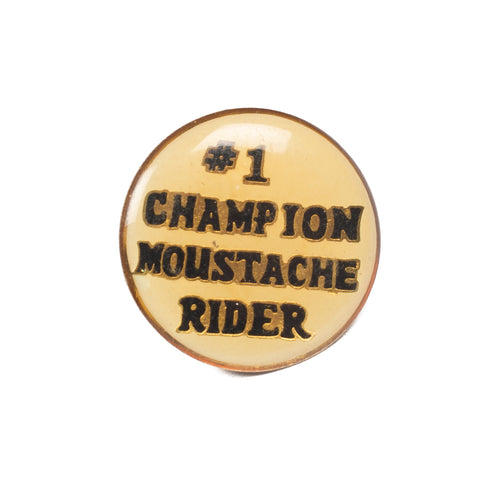 Vintage #1 Champion Lapel Pin