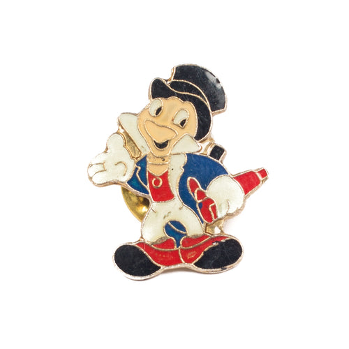 Vintage Jiminy Cricket Lapel Pin