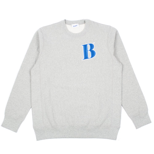 Better Collegiate B Crewneck Grey