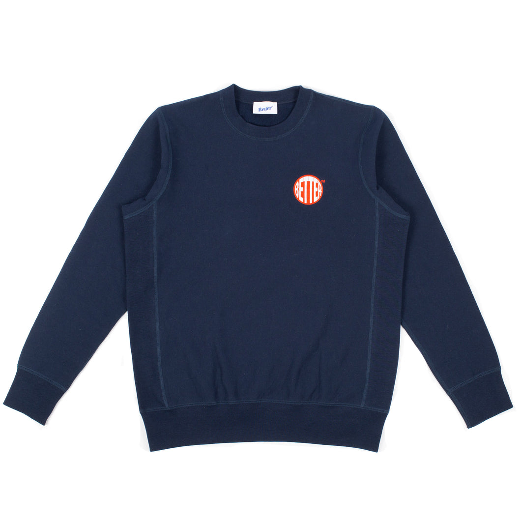 Better Circle Logo Crewneck