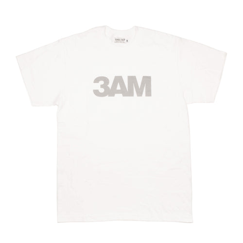 Chill Out 3AM Tee White