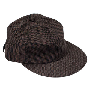 "Organ Handmade Wool ""Brown"" 6 Panel Hat"