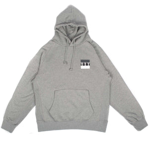 "The Trilogy Tapes - S/S ""TTT Block"" Grey Hoodie"